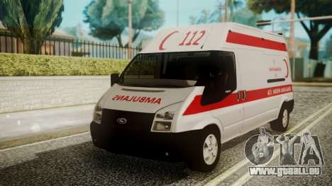 Ford Transit Jumbo Ambulance pour GTA San Andreas