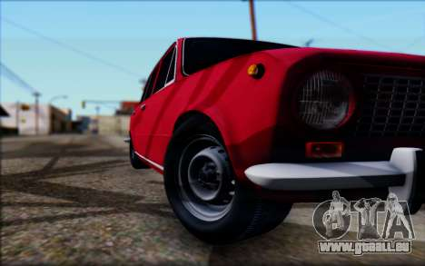 VAZ 2101 V1 für GTA San Andreas Innenansicht