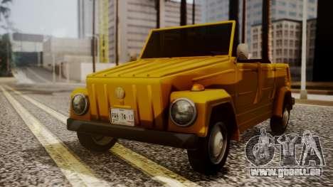 Volkswagen Safari Type 181 für GTA San Andreas