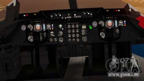 DC-10-10 United Airlines (80s Livery) für GTA San Andreas Rückansicht