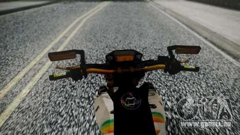 Honda MSX 125C Khmer pour GTA San Andreas vue de droite