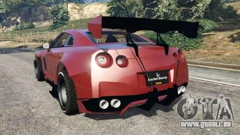 Nissan GT-R (R35) [RocketBunny] v1.1 pour GTA 5
