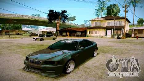 BMW E46 M3 Sport pour GTA San Andreas