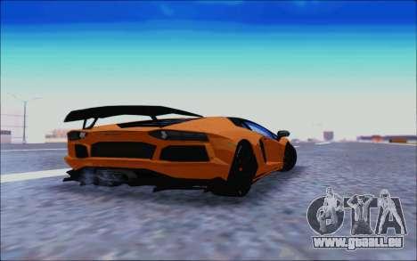 Lamborghini Aventador MV.1 [IVF] für GTA San Andreas Rückansicht