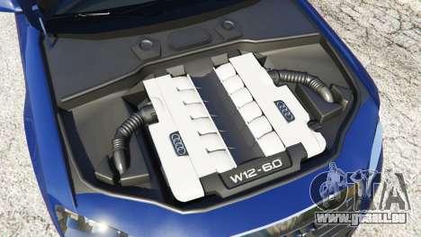 GTA 5 Audi A8 hinten rechts