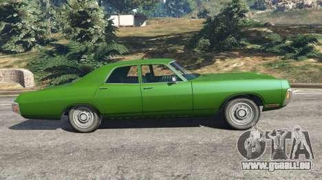GTA 5 Dodge Polara 1971 v1.0 linke Seitenansicht