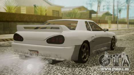 Elegy NR32 without Neon pour GTA San Andreas laissé vue