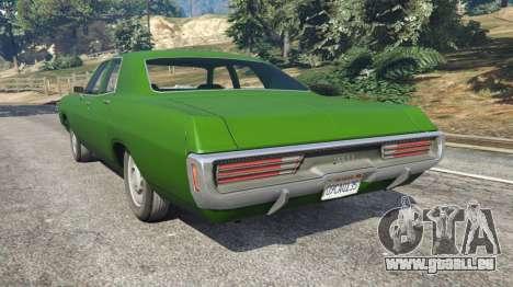 GTA 5 Dodge Polara 1971 v1.0 hinten links Seitenansicht
