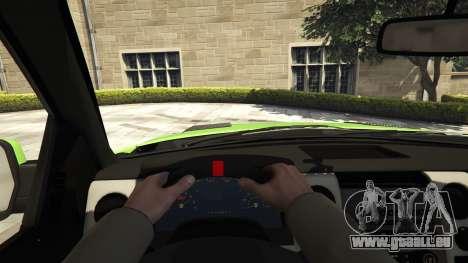 GTA 5 Ford F150 SVT Raptor 2012 v2.0 vue arrière
