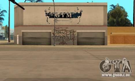 HooverTags pour GTA San Andreas quatrième écran