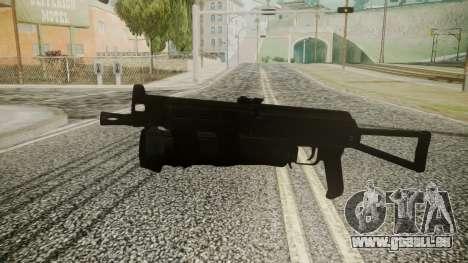PP-19 Battlefield 3 pour GTA San Andreas deuxième écran