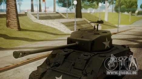 M4A3(76)W HVSS Sherman pour GTA San Andreas vue de droite