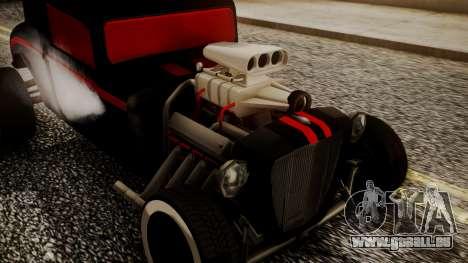 Hotknife Modificado pour GTA San Andreas vue de droite