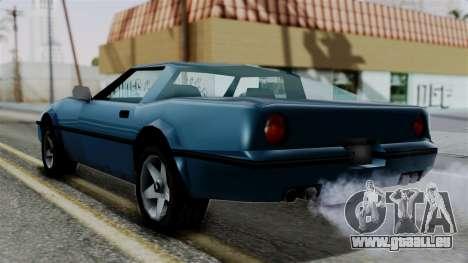 Banshee from Vice City Stories pour GTA San Andreas laissé vue