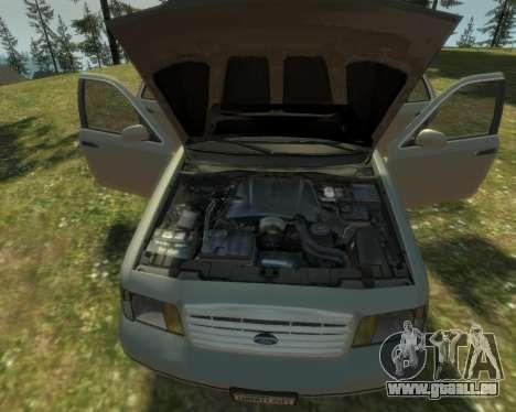 2003 Ford Crown Victoria pour GTA 4 est un côté