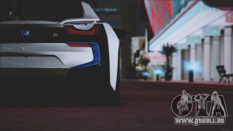 BMW i8 Coupe 2015 für GTA San Andreas Motor
