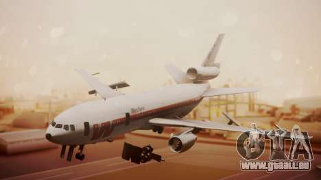DC-10-10 Western Airlines pour GTA San Andreas