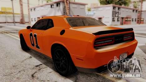Dodge Challenger SRT Hellcat 2015 HQLM für GTA San Andreas