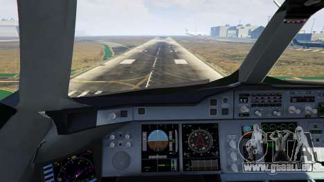 GTA 5 Airbus A380-800 v1.1 neunter Screenshot