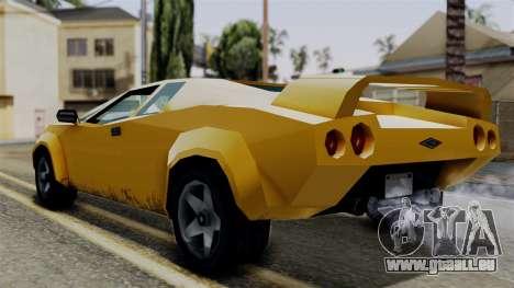 Infernus from Vice City Stories für GTA San Andreas linke Ansicht