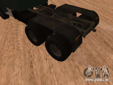 ZIL-133 05A pour GTA San Andreas vue de droite
