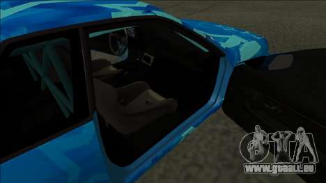 Nissan Skyline R32 Drift Blue Star für GTA San Andreas zurück linke Ansicht