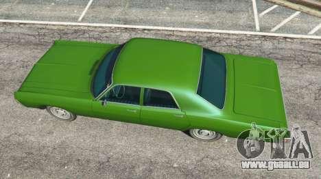 GTA 5 Dodge Polara 1971 v1.0 Rückansicht