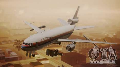 DC-10-10 United Airlines (80s Livery) pour GTA San Andreas
