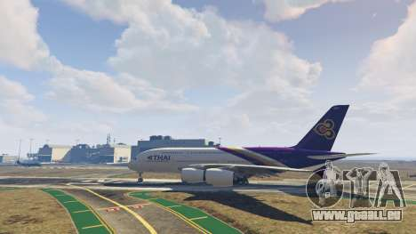 GTA 5 Airbus A380-800 v1.1 fünfter Screenshot