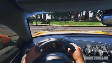 GTA 5 Ferrari F12 Berlinetta vue arrière