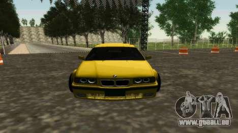 BMW 320i E36 Wide Body Kit pour GTA San Andreas laissé vue