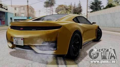 Dinka Jester Sparkle für GTA San Andreas linke Ansicht