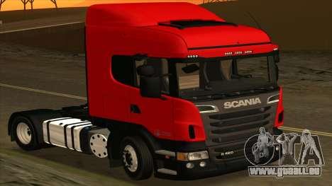 Scania R420 4x2 pour GTA San Andreas laissé vue