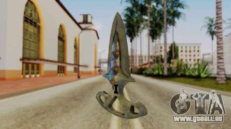 L'ombre de la Dague de durcissement de Surface pour GTA San Andreas