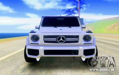 Mercedes-Benz G65 AMG pour GTA San Andreas vue de droite