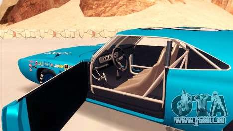 Plymouth Superbird 1943 für GTA San Andreas zurück linke Ansicht