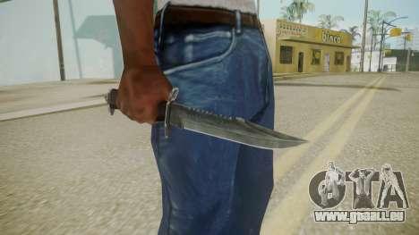 Atmosphere Knife v4.3 pour GTA San Andreas troisième écran