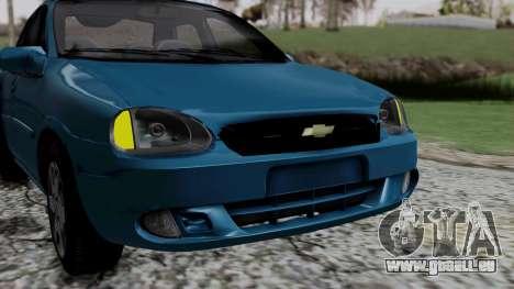 Chevrolet Corsa Classic 2009 v3 für GTA San Andreas Seitenansicht