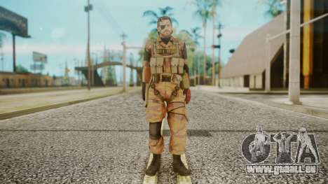 Venom Snake Golden Tiger pour GTA San Andreas deuxième écran