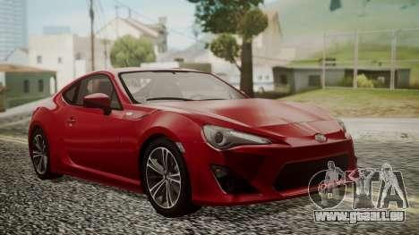 Toyota GT86 2012 LQ für GTA San Andreas