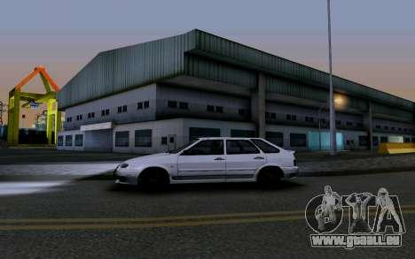 2114 Turbo für GTA San Andreas Motor