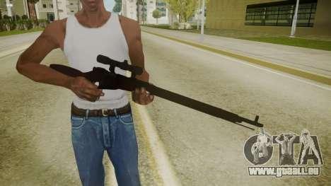 Atmosphere Sniper Rifle v4.3 für GTA San Andreas dritten Screenshot