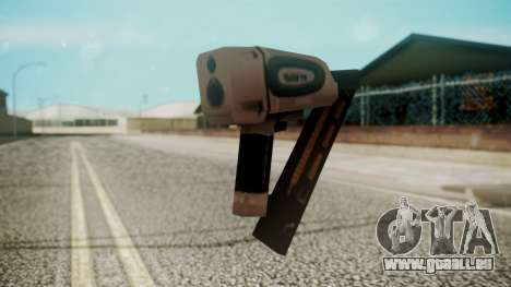 Nail Gun from Resident Evil Outbreak Files für GTA San Andreas zweiten Screenshot