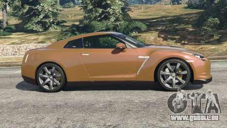 GTA 5 Nissan GT-R (R35) linke Seitenansicht