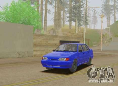 VAZ 2115 les eaux de Ruissellement pour GTA San Andreas