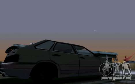 2114 Turbo für GTA San Andreas Räder