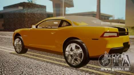Chevrolet Camaro SS 2015 für GTA San Andreas linke Ansicht