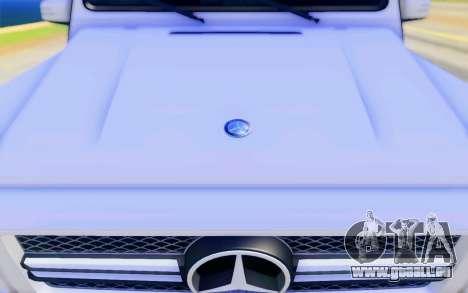 Mercedes-Benz G65 AMG pour GTA San Andreas salon