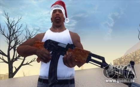 Realistic Weapons Pack pour GTA San Andreas deuxième écran