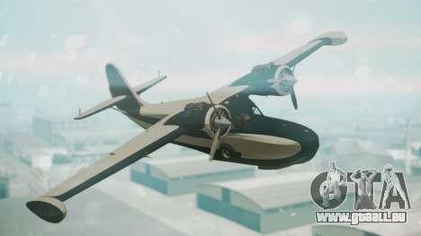 Grumman G-21 Goose Black and White für GTA San Andreas